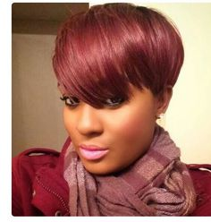 3 Reasons You Should Try A Pixie Wig Or Weave  Read the article here - http://blackhairinformation.com/hair-care-2/styling/3-reasons-try-pixie-wig-weave/