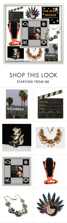 Hollywood Favorites by thejewelseeker-1 on Polyvore featuring Ballard Designs, vintage, women's clothing, women's fashion, women, female, woman, misses and juniors