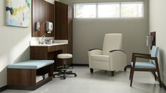 Voyage Recliner - Healthcare solutions from Meadows Office preferred partner, Carolina Business Furniture.