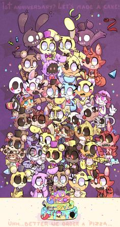 Pin this to come to my birthday on November 22 with the FNaF gang!!! (From:Valeria and comment happy birthday on November 22 GOOD-BYE) And let's order a pizza :3 It's my birthday thanks who ever put a comment bellow