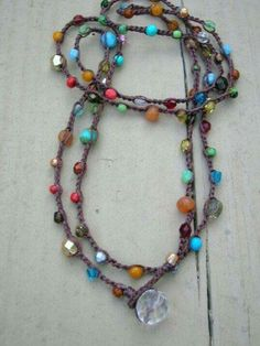 Totally awesome way to use up random beads
