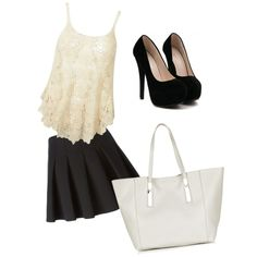Tenue by chouquette-oreo on Polyvore featuring polyvore, beauté, Topshop and Alexander Wang