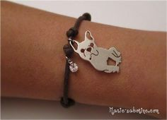 French Bulldog Fan Bracelet