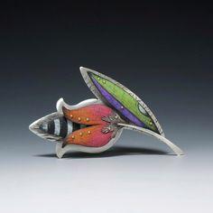 Deb Karash, металл+цветные карандаши