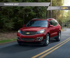 Hank Graff Chevrolet   Bay City: Downloadable 2017 Chevrolet Traverse  Brochure