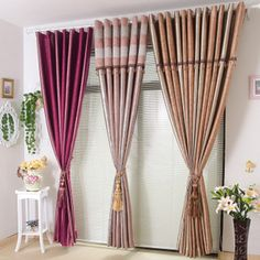 $8.69 Set points Po thickened doubled shading the heat retaining upscale finished living room bedroom study Draperies special