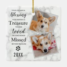 Pet Loss Dog Pet Memorial Ceramic Ornament - tap/click to personalize and buy #CeramicOrnament #dog #memorial #ornaments, #pet #loss, Pet Memorial Gifts, Dog Memorial, Memorial Ideas, Pet Sympathy Quotes, Sympathy Gifts, Pet Loss Quotes, Pet Dogs, Pets, Loss Of Dog