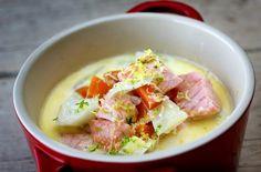 Tuna, Potato Salad, Potatoes, Fish, Meat, Ethnic Recipes, January, Potato, Pisces