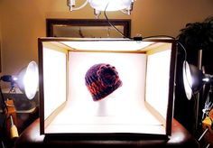Re-purpose an old cardboard box to a useful light box. Fantastic idea   DIY Light box Tutorial -Cheri Quite Contrary