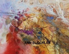 Butterfly, brambles and cobwebs by Ann Blockley, 2014.