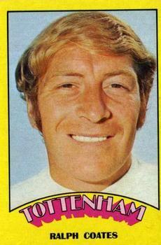1974-75 A&BC Gum #101 Ralph Coates Front