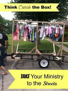 Do you spend more time thinking about what you can't do in ministry because of a lack of resources, money, people, or space? Remember that you serve a great God whom has blessed us with creativity and resourcefulness that helps us thing outside of the traditional walls of how to do ministry. Click and go to GinaDuke.com to let me encourage you with some fresh ideas!