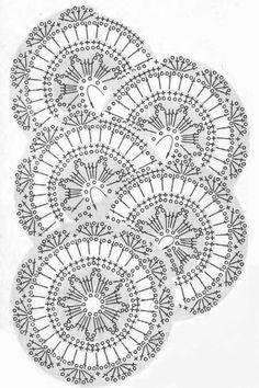 Crochet swim shorts - pattern 2