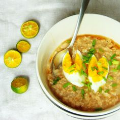 Nice and Hot Oatmeal Porridge perfect for rainy season