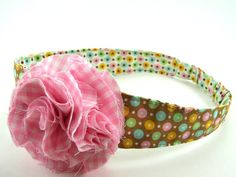 Reversible Fabric Headband Pattern ... plus by SundayGirlDesigns