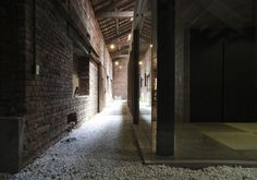 Hideout of a Brick Storehouse is a minimalist house located in Hiroshima, Japan, designed by K2-Design.