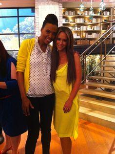 Love these two. Aisha Tyler and Jennifer Love Hewitt