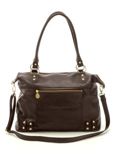 Chocolate Brown Leather Www Bellisimababy Cute Diaper Bags Bag Purse