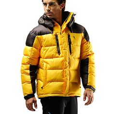 FUERZA Mens Winter Down Wellon Hooded Heavy Duty Parka Jacket (Large, Yellow) Fuerza http://www.amazon.com/dp/B013FD0KDU/ref=cm_sw_r_pi_dp_6h9kwb1EA9BFS