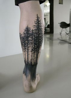 These types of tattoos could be placed in any part of your body. It's usually best place in the arms or in the legs as you can create an infinite picture.