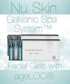 Nu Skin Galvanic Spa System™ Facial Gels with ageLOC®