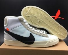 sale retailer 7ce01 ded1a Off-White x Nike Blazer Mid For Sale