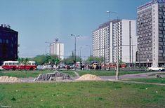 ul. Świętokrzyska / ul. Juliana Marchlewskiego, 05.1973 (fot. Helmut Lauterbach)