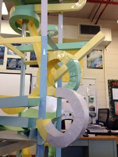 Paper Roller Coaster instructions and examples