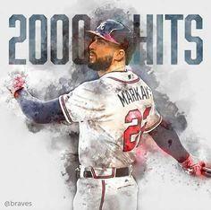 Braves Baseball, Baseball Players, Football, Baseball Cards, Nick Markakis, Atlanta Braves, Milwaukee, Mlb, Sports