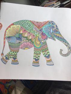 Millie Marotta Elephant Print