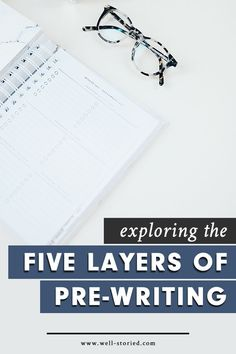 Pre-writing your novel can have a huge impact on the ease of your drafting and editing. But how can you make the pre-writing process your own? Check out guest author Karah Rachelle's tips on exploring the 5 layers of pre-writing today!