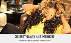 This is Latavia Roberson formerly of the hit female musical group destiny's child rocking some Luxury Direct Hair she is also the face of Luxury hair direct!