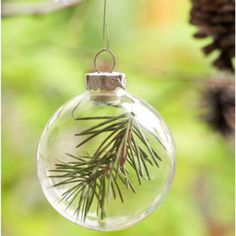 Cute Christmas ornament- piece of first Christmas tree
