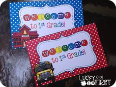Everyone LOVES Mail! Send your kiddos Back to School postcards. Pre-K -- 4th Grade {FREEBIE}
