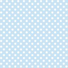 Baby- und Kinderstoff aus Bio-Baumwolle mit Punkten in hellblau/weiß, made in Germany