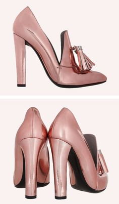 Alexander Wang - I think I've found the ultimate pink shoe...metallic too! *drool*