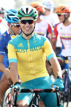 #RIO2016 Best of Day 1 - Richie Porte of Australia prepares to start during the Men's Road Race on Day 1 of the Rio 2016 Olympic Games at the Fort Copacabana on August 6 2016...