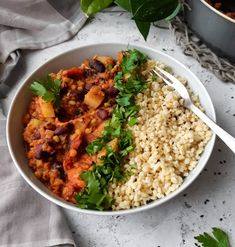 Rabbit Food, Plant Based Diet, Chana Masala, Risotto, Chili, Low Carb, Gluten, Vegan, Healthy