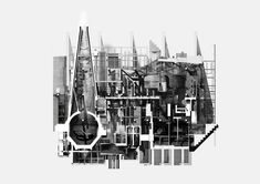 Drawing architecture steven baumann presentation drawings, a Bartlett School Of Architecture, Chinese Architecture, Concept Architecture, Architecture Details, Berkeley Architecture, Architecture Graphics, Architecture Drawings, Landscape Design Plans, Landscaping Design