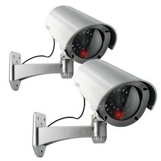 SVAT ISC300 Imitation Security Camera with Realistic Flashing Red LED - Bonus Pack of 2 by SVAT. $24.99. All-in-one Deterrent Camera The ISC300 imitation security camera is an easy way to deter intruders or vandals and make your property appear to have a robust security system. The ABS plastic housing and cable make it look like a real, functioning camera. This camera can also be used in combination with a functioning security system to heighten the effectiveness. Customers, ne...