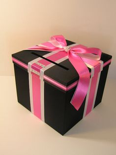 Wedding Card Box Gift Card Box Money Box by bwithustudio on Etsy, $70.00