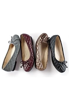 Quilted Bow Flats | Chadwicks of Boston