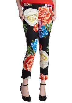 Power Flower Pants, #ModCloth