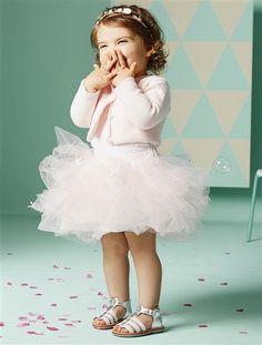 #Jupon et culotte intégrée bébé fille Collection vertbaudet Printemps-Eté 2015 - www.vertbaudet.fr