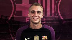 A peine engagé il se fait gronder par le Barça