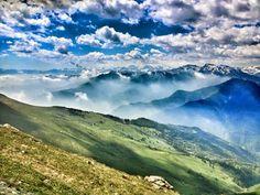 Strada dei Cannoni (Val Maira, Piemonte - Italy) Photo: Luca Manetti  http://www.trailburning.com/trail/strada-dei-cannoni-val-maira