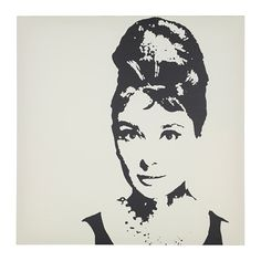 PJÄTTERYD Picture, Audrey Hepburn