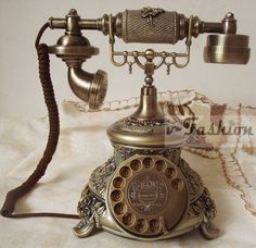 rotary dialed line telephones - Buscar con Google