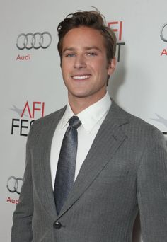 Armie Hammer...I want him.  Can I please keep him?