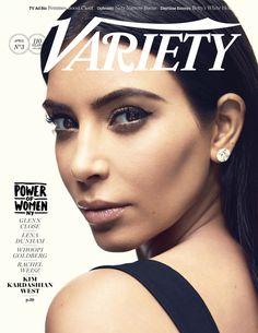 Kim Kardashian for Variety